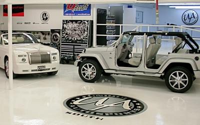 Automotive Showrooms Tile Image