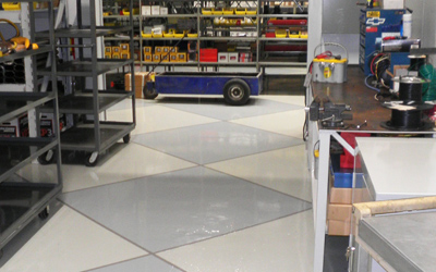 Racing Parts and Storage Areas Tile Image