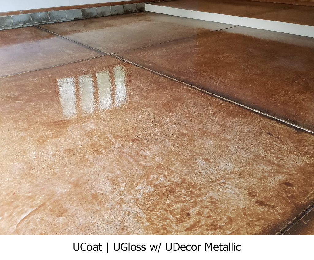 UCoat | UGloss w/ UDecor Metallic Photo Gallery Image