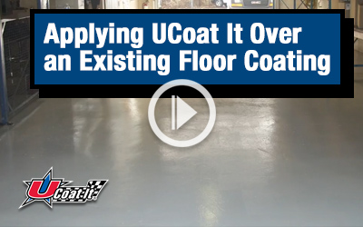 Applying Over an Existing Floor Coating