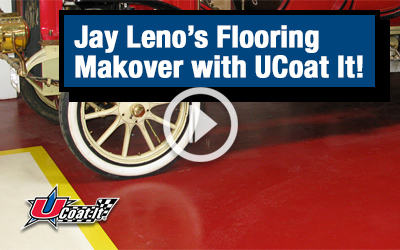 Jay Leno's Flooring Makeover with UCoat It!