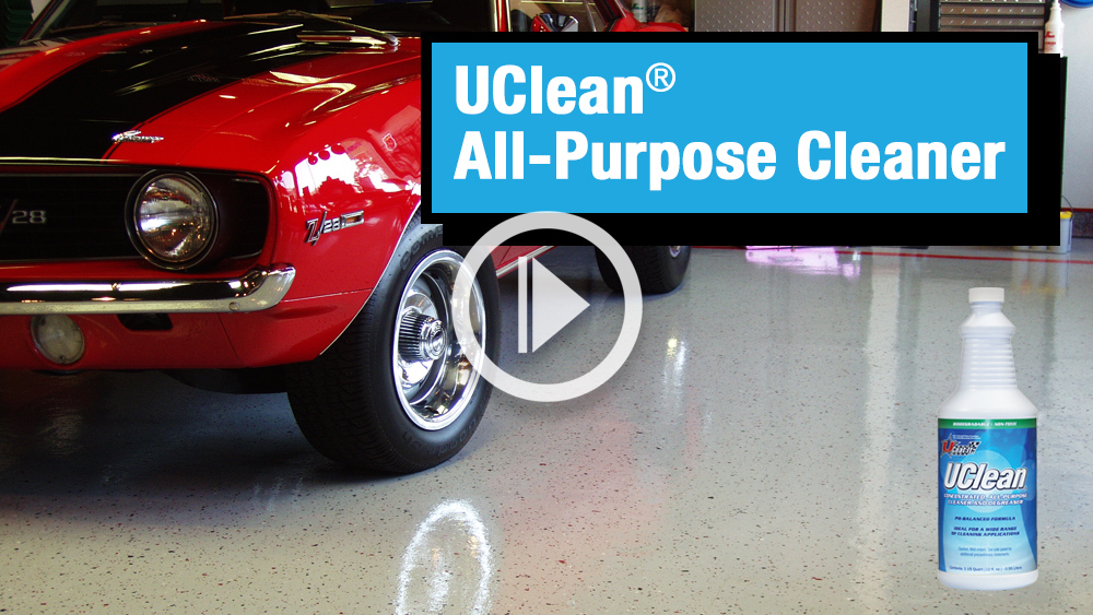 UClean All Purpose Cleaner Video Image