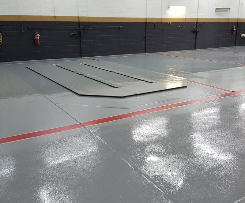 Automotive Epoxy Floor Coatings