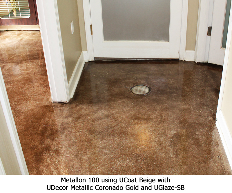 Metallon 100 Ucoat It Floor Coating Systems