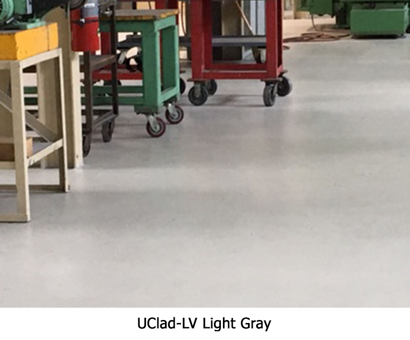 Uclad Lv Ucoat It Floor Coating Systems
