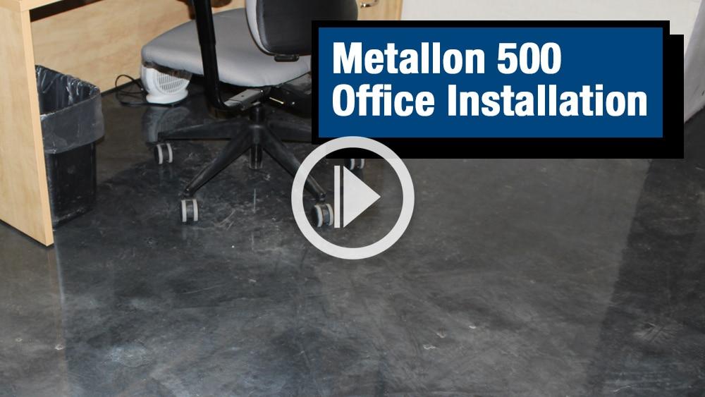 Metallon 500 Office Installation Video Image