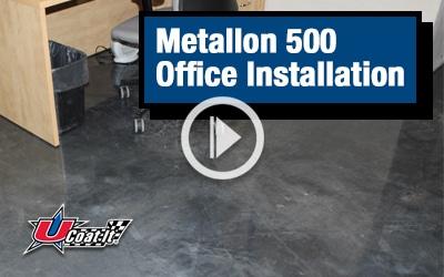 Metallon 500 Office Installation