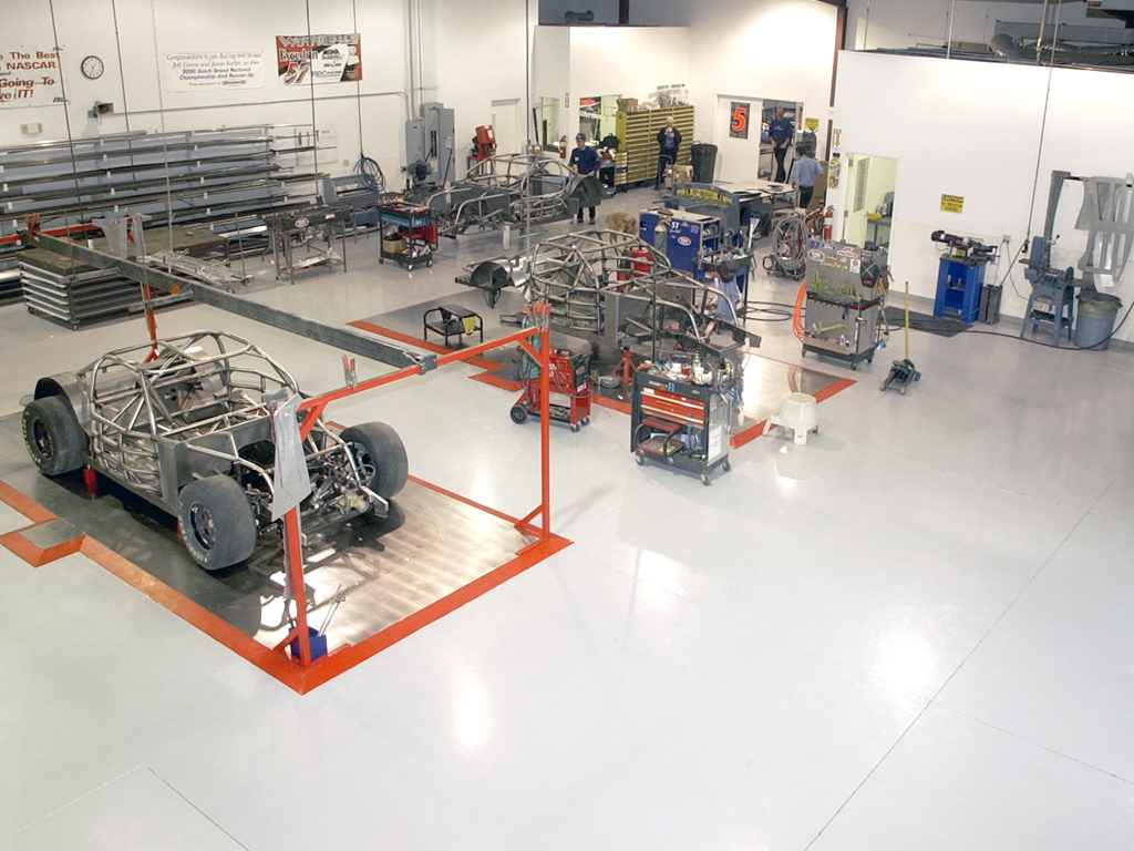 Ppc Racing Project Profile Ucoat It Floor Coating Systems