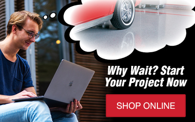 Why Wait? Start Your Project Now | Shop Online