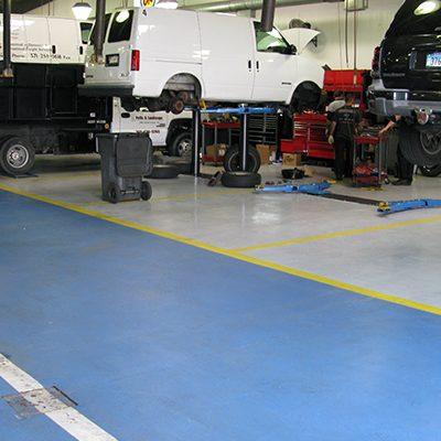 UCoat with UFlek-AF Floor Coating System