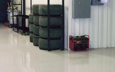 Racing Parts & Storage Sample 01